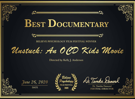 "Psychologists vote us ""Best Documentary"""