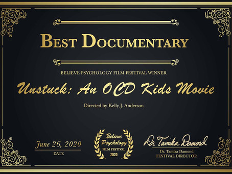 """Psychologists vote us """"Best Documentary"""""""