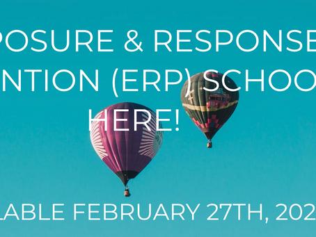 ERP School is open....