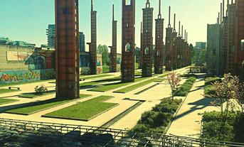 Cattedrali a cielo aperto: Parco Dora a Torino, Lotto Vitali (Italia), memoria presente di un passat