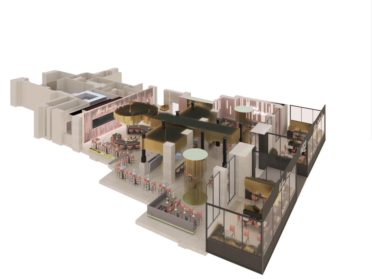 Peck Italian Temptation Restaurant Proposal, Milan