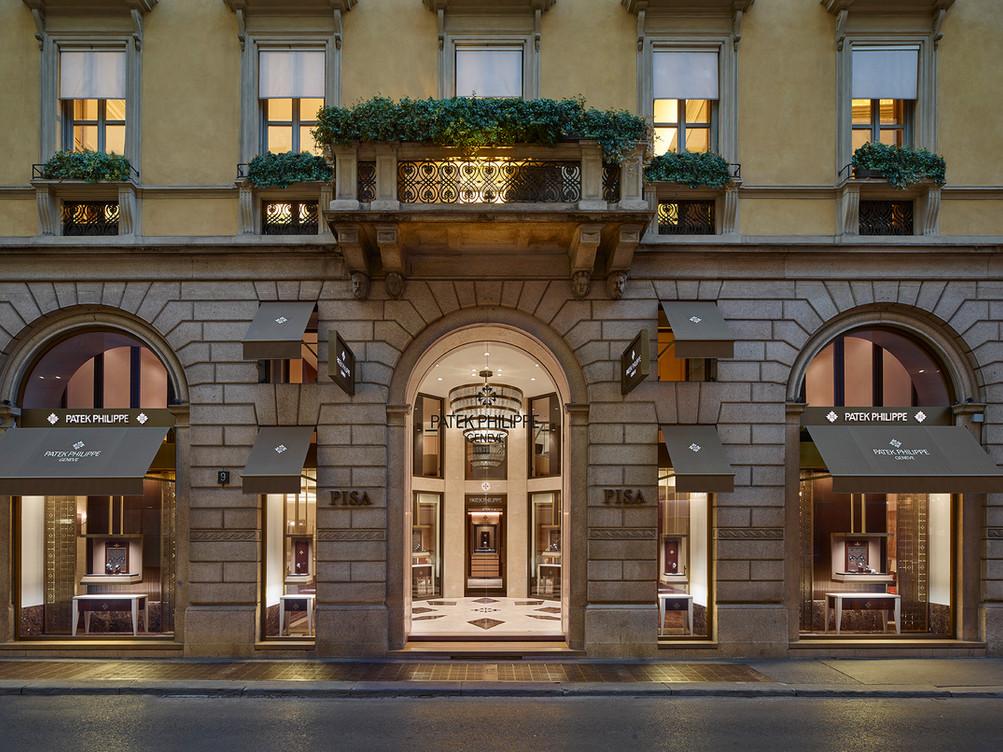 Boutique Patek Philippe, Milan