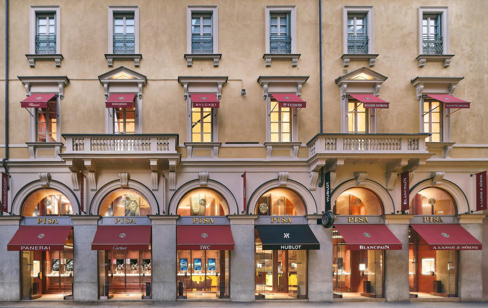 Pisa Orologeria Flagship Store, Milan
