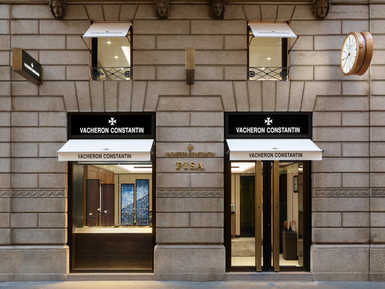 Boutique Vacheron Constantin, Milan