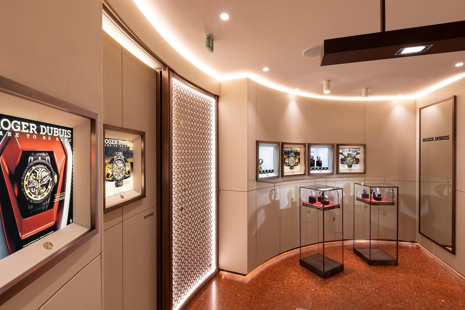 Boutique Roger Dubuis, Milan