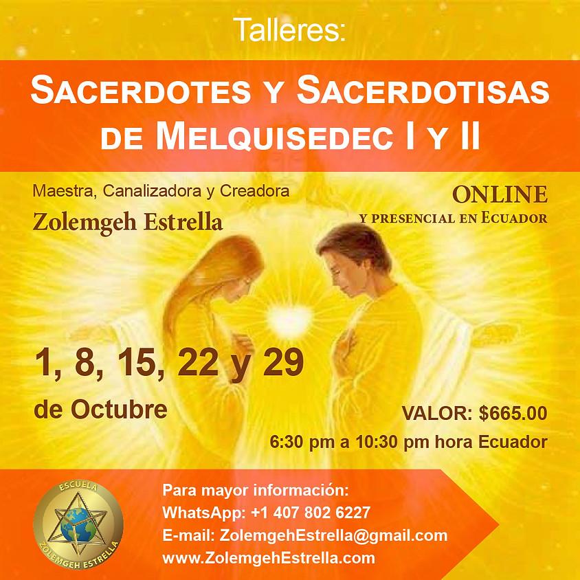 Iniciación como Sacerdote o Sacerdotisa de Melquisedec. Pasos 1 y 2