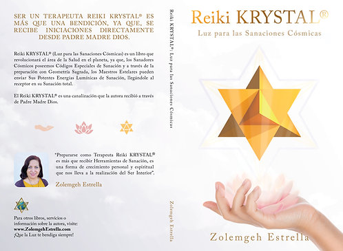 Libro: Reiki Krystal (Luz para las SC) | Sólo en USA y Canadá