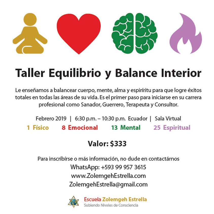 Taller Equilibrio y Balance Interior