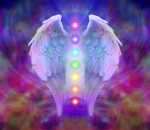 Limpieza, armonización y alineación de los 16 chacras y cierre del aura