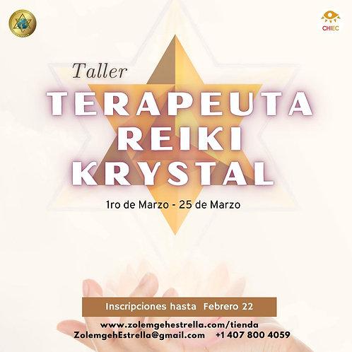 Taller Terapeuta Reiki KRYSTAL | EN LÍNEA