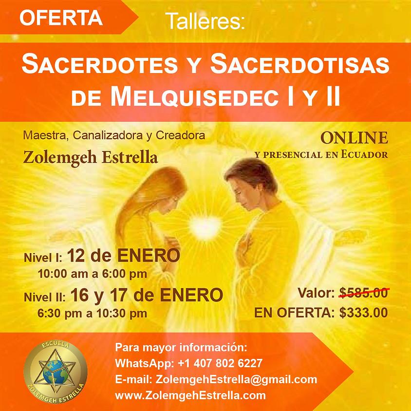 2 Talleres Sacerdotes y Sacerdotisas de Melquisedec I & II | EN LÍNEA