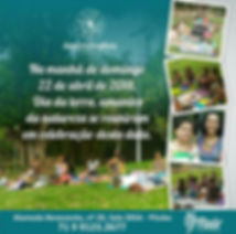 Dia da Terra no Parque da Cidade Fluir Terapias Integrativas Salvador BA Barra de Access