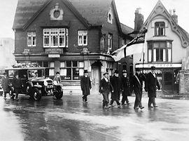 Funeral Taunton 1930's. E White and Son
