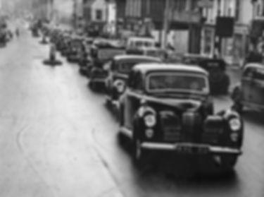 Funeral 1950,s Taunton Somerset