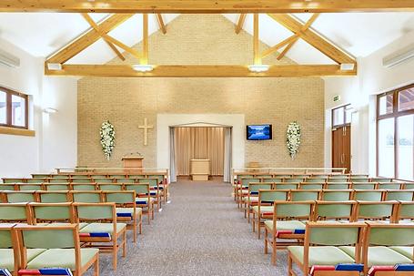 Sedgemoor Crematorium inside Chaple