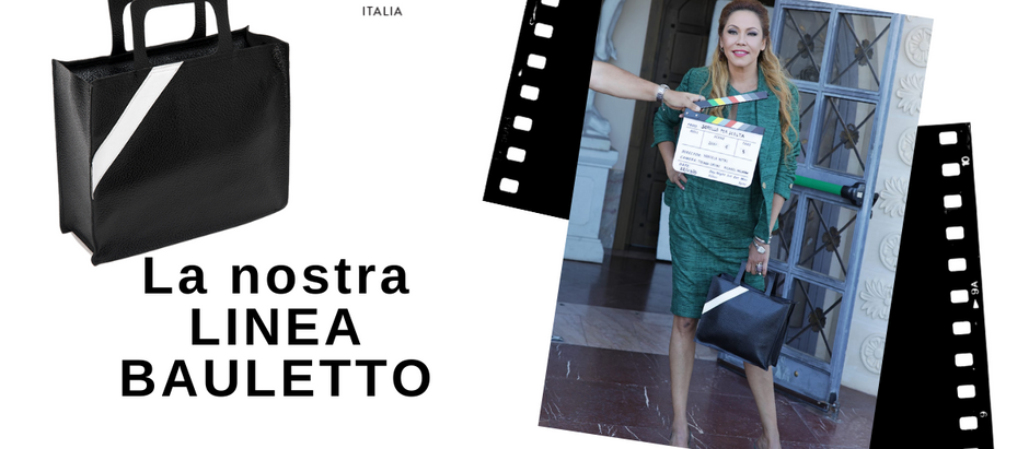 """La nostra Bauletto e Pochette selezionate per la serieTV di NETFLIX """"Sorelle Per Scelta"""""""