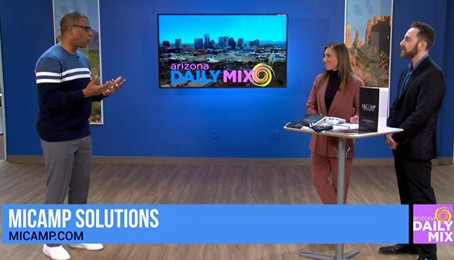 MiCamp Solutions on the Arizona Daily Mix!