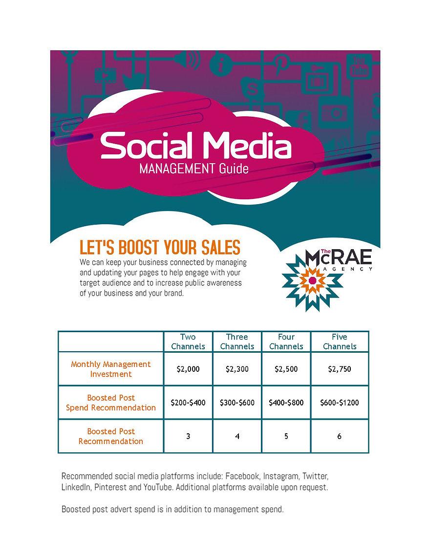 McRae Agency Social Media Management Gui