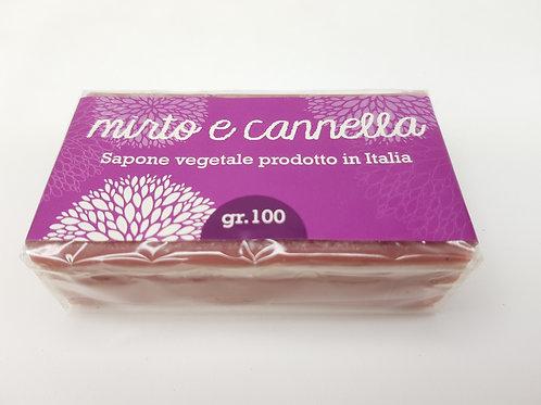 Sapone Mirto & Cannella / Sapone Naturale e Vegano