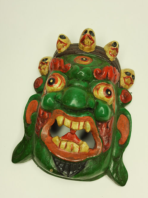Maschera Mahakala / Verde
