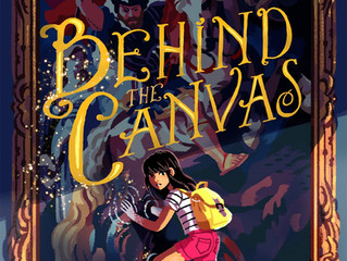 Behind the Canvas hits shelves today!