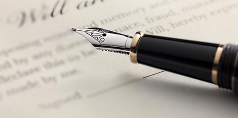 Will document & Pen
