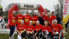 Age Connects team taking part in Gung-Ho!