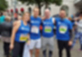 Group of Age Connects runners for Cadiff Half Marathon '17