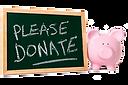 Pleae donate chalkboard and piggy bank