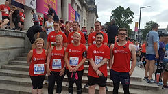 Age Connects team for the Cardiff 10k