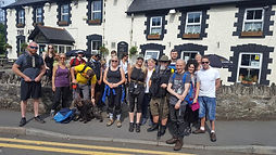 Team of walkers ready for Waterfalls wal
