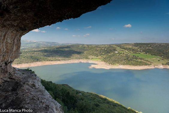 Panorama sul lago Temo