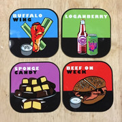 Buffalo Food Group Coasters