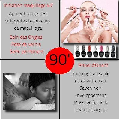 Coffret cadeau  Lift Beauté 90 Minutes