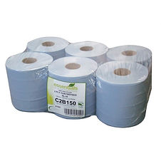 2 Ply Centre Feed Blue Rolls 6 Pack.jpg