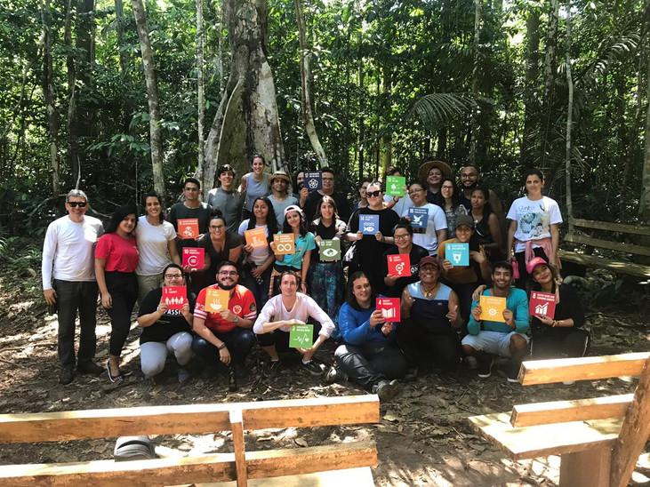 Jovens da Pan-Amazônia lançam vídeo para engajamento em prol dos ODS