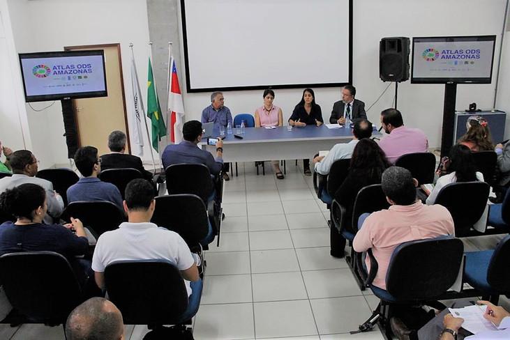 """SDSN-Amazônia participa do lançamento do """"ATLAS ODS Amazonas"""""""