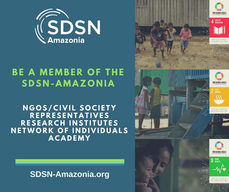 Be a member of the SDSN Amazonia