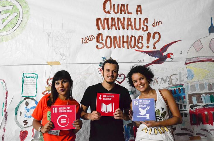 SDSN Jovem Amazônia promove ODS da ONU durante a Virada Sustentável Manaus 2019