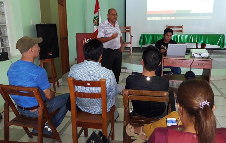 Productores de Sacha Inchi del Ecuador fueron capacitados por el IIAP en San Martín