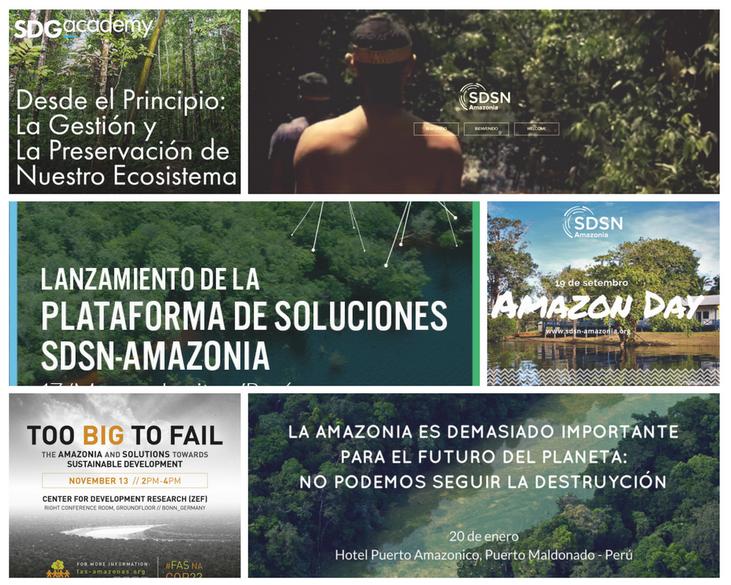 Retrospectiva SDSN- Amazonia