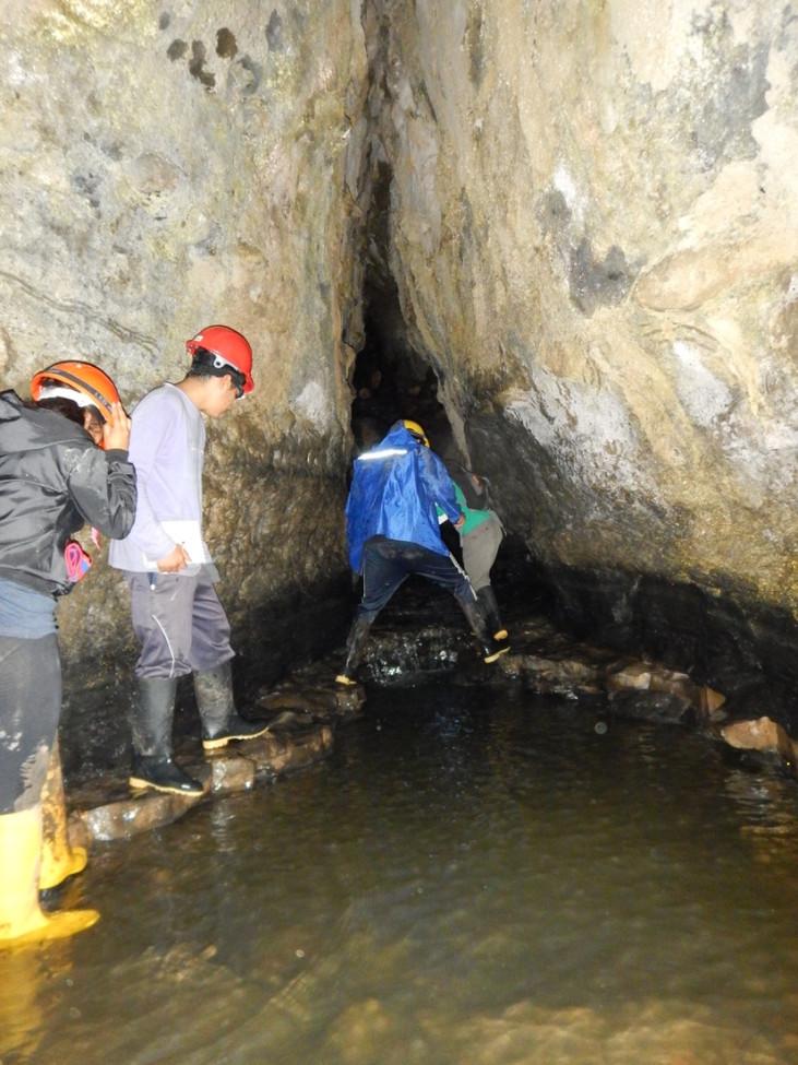 Estudiantes de Ikiam inventariaron 35 cavidades naturales de Napo y publicaron un artículo científic