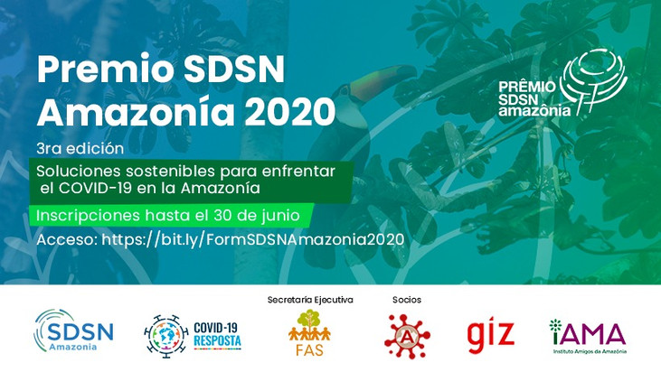 SDSN Amazônia premia soluções sustentáveis de enfrentamento à Covid-19 na Amazônia