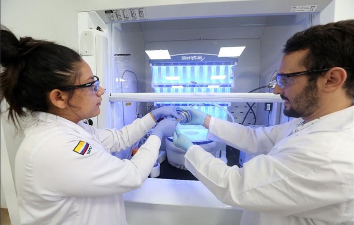 Lenin Moreno inaugura laboratorios de última tecnología en universidad Amazónica