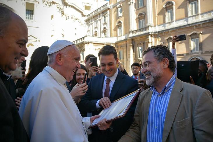 Diretor da Rede SDSN-Amazônia participa do encontro 'Direito Humano à água' com Papa Francis