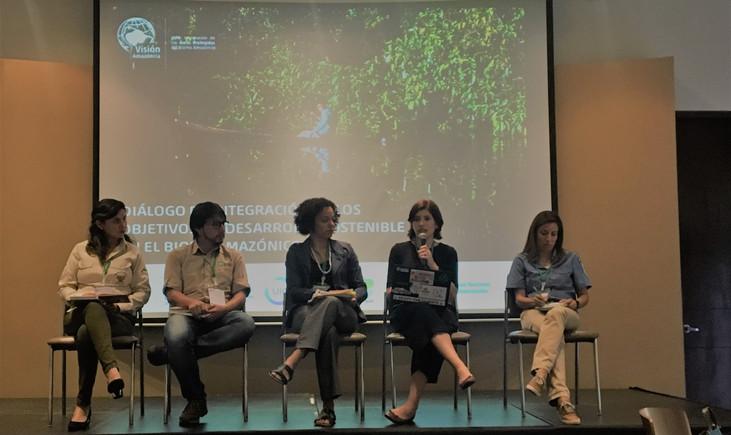 SDSN Amazonia participa en Colombia del diálogo acerca de la integración de los ODS en el bioma Amaz