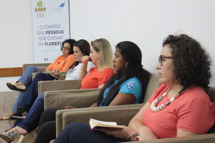 Papo sustentável sobre 16 Dias de Ativismo reunindo diversos setores do Amazonas revela altas taxas