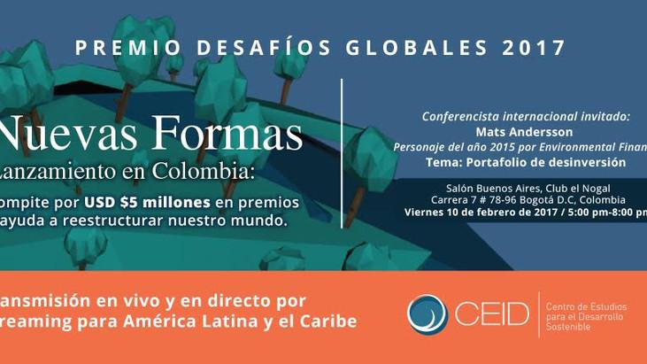 PREMIO DESAFÍOS GLOBALES 2017