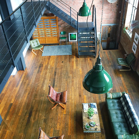 HOME TOURS: THE OLD SPRATTS FACTORY