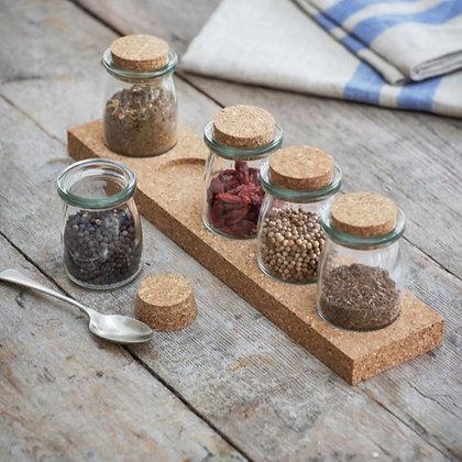Five Jar Spice Rack